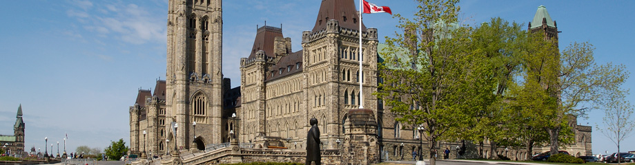 The Senate of Canada on Parliament Hill, Ottawa, Canada - Le Sénat du Canada sur la Colline du Parlement, Ottawa, Canada